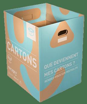 Contenant Ecobox Carton de Recygo