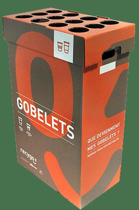 Contenant Ecobox Gobelets de               Recygo