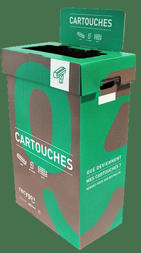 Contenant Ecobox Cartouches de Recygo