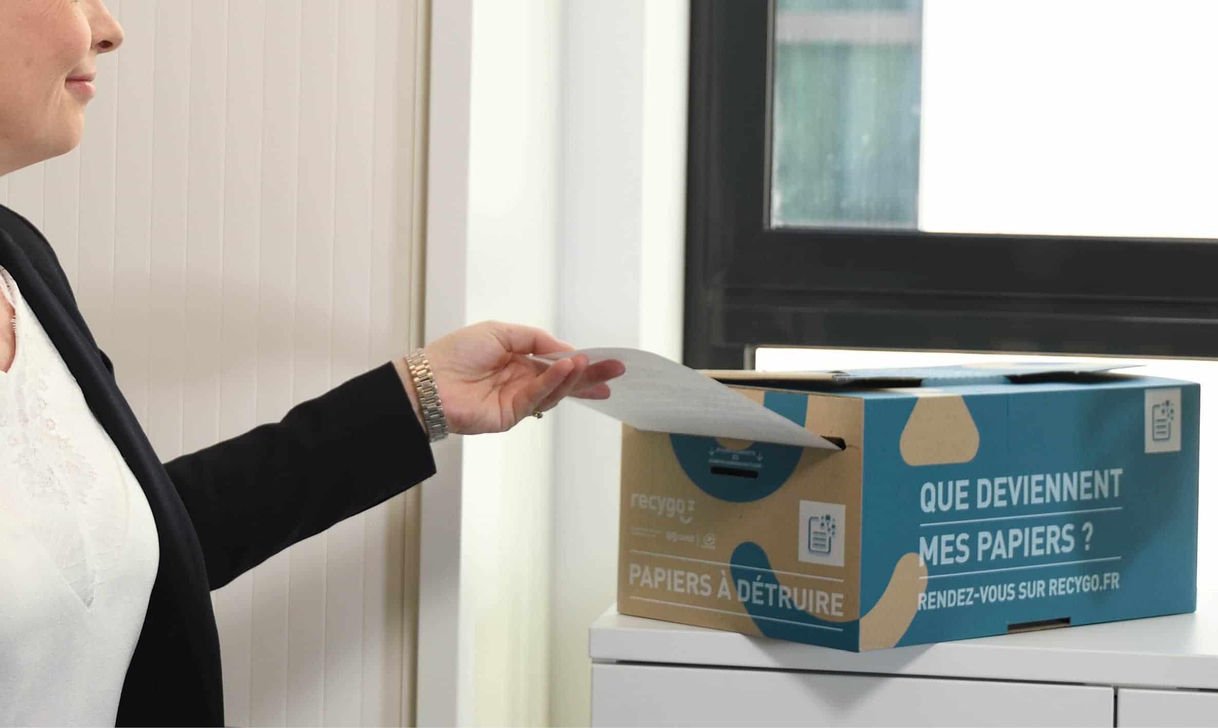 Trier, sécuriser, recycler ses papiers confidentiels