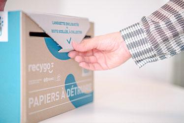 Kadnabox et protection des papiers confidentiels