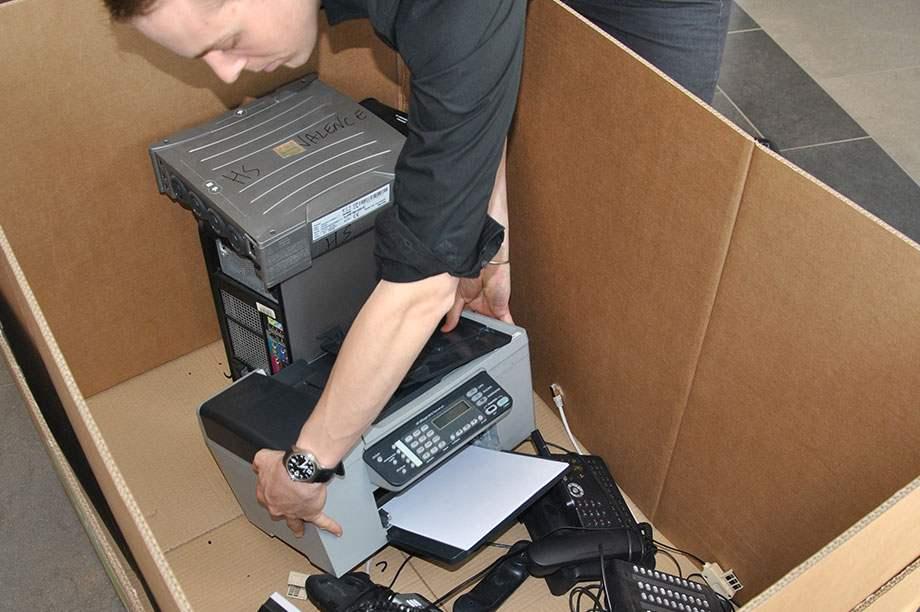 Destocker vos déchets electriques et electroniques au bureau